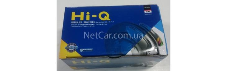 Новая упаковка тормозных колодок Sangsin Hi-Q