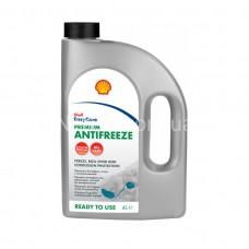 Антифриз Shell Premium сине-зеленый 4л.